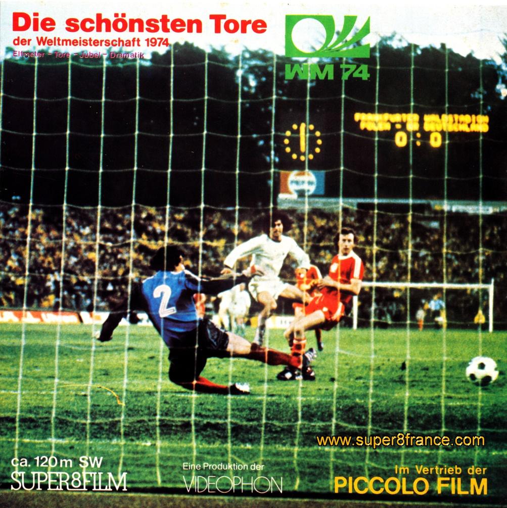 Films super 8mm d 39 dition dans la cat gorie sport - Les plus beau but de la coupe du monde ...